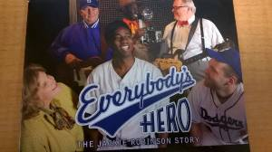 Jackie Robinson everybody's hero