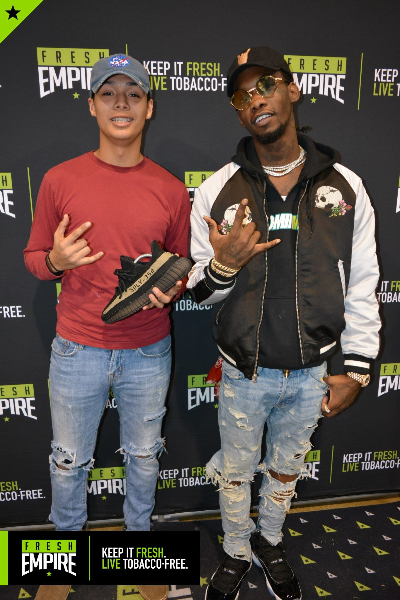 Migos and benjamin kickz were special guests of the sneaker exit in meet some of his biggest fans if you were in attendance you were in luck to be at our gwinnett convention on december 11th m4hsunfo