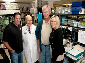 Dr Alan Permutt MD  JT Snow  Stephany Snow -Gable