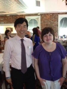 Photo of Dr. Urano and Lauren Gibilisco