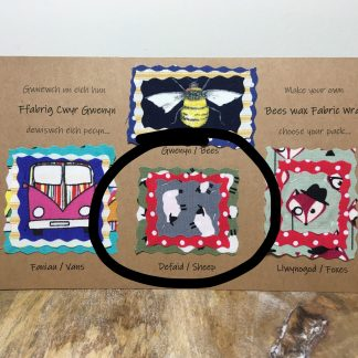 Beeswax Fabric Wraps - Sheep