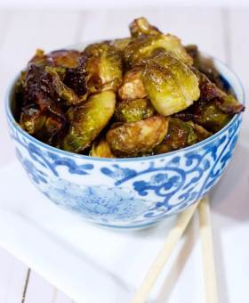 """Mateo's """"Famous"""" Asian Roasted Brussels Sprouts"""