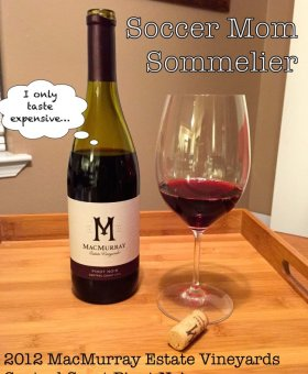 2012 MacMurray Estate Vineyards Pinot Noir