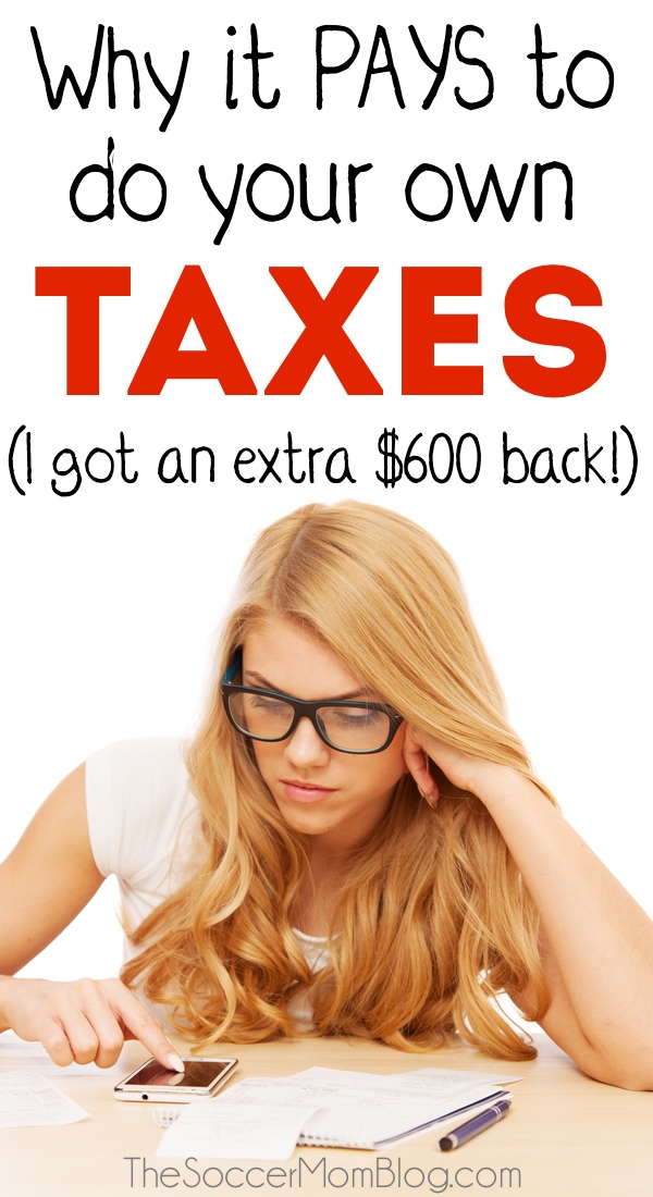 It's not as hard as you'd think! Plus you can save money if you do your own taxes. (We got an extra $600 back on our return!!)