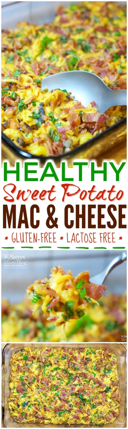 Rich, creamy, savory...and GOOD for you?! This Sweet Potato Mac & Cheese will satisfy your cravings PLUS it's gluten free, lactose free, & full of veggies!
