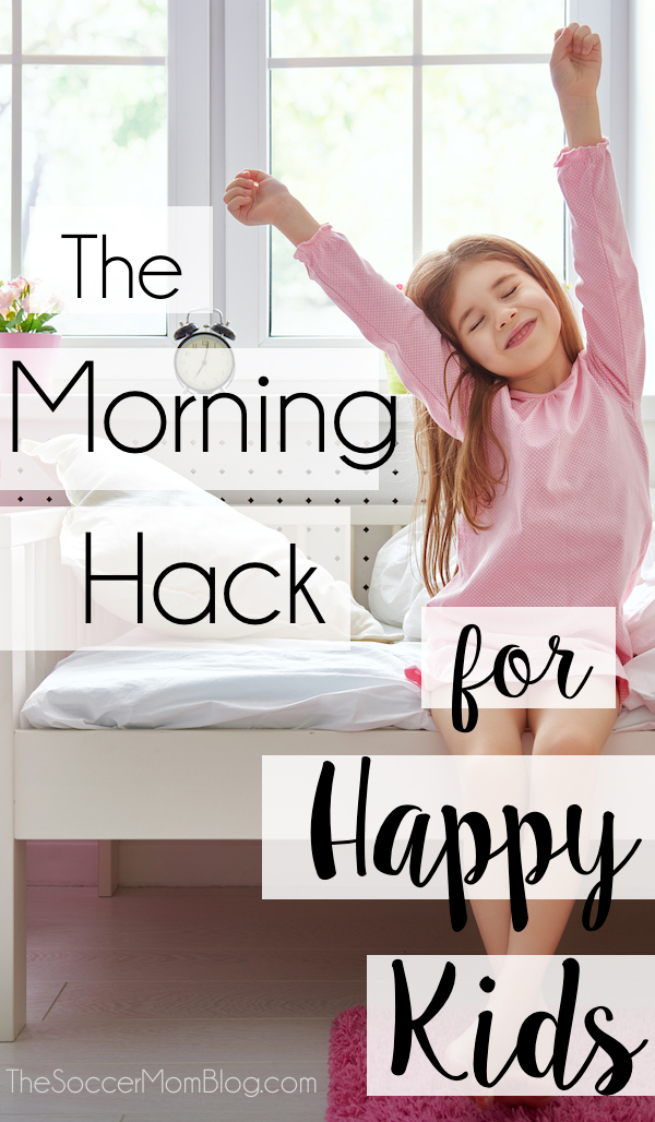 Must-try hack to get your kids to wake up happy in the morning - This really works!!