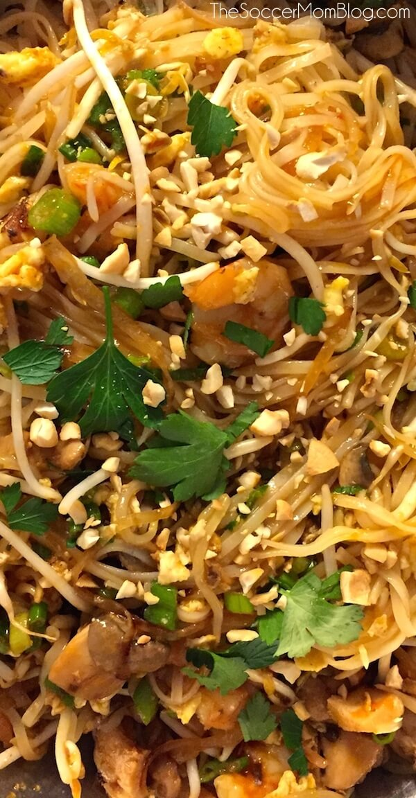 How to Make Authentic Pad Thai at Home - The Soccer Mom Blog