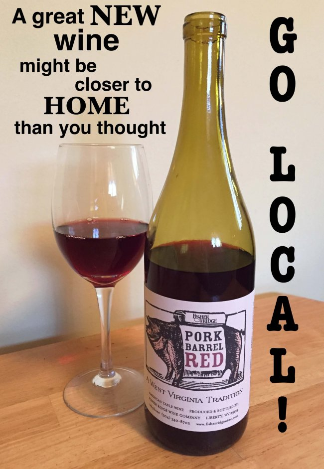 Fisher Ridge Pork Barrel Red West Virginia wine tasting notes