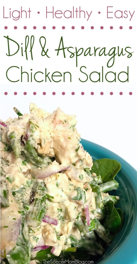 Light, healthy, easy, beautiful and delicious! What's more to love? It will seriously be the best chicken salad you've had in a long time!