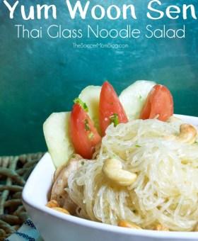 Yum Woon Sen (Thai Glass Noodle Salad)