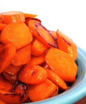 The Easiest Ginger Ale Glazed Carrots