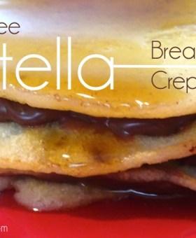 Gluten Free Nutella Crepes