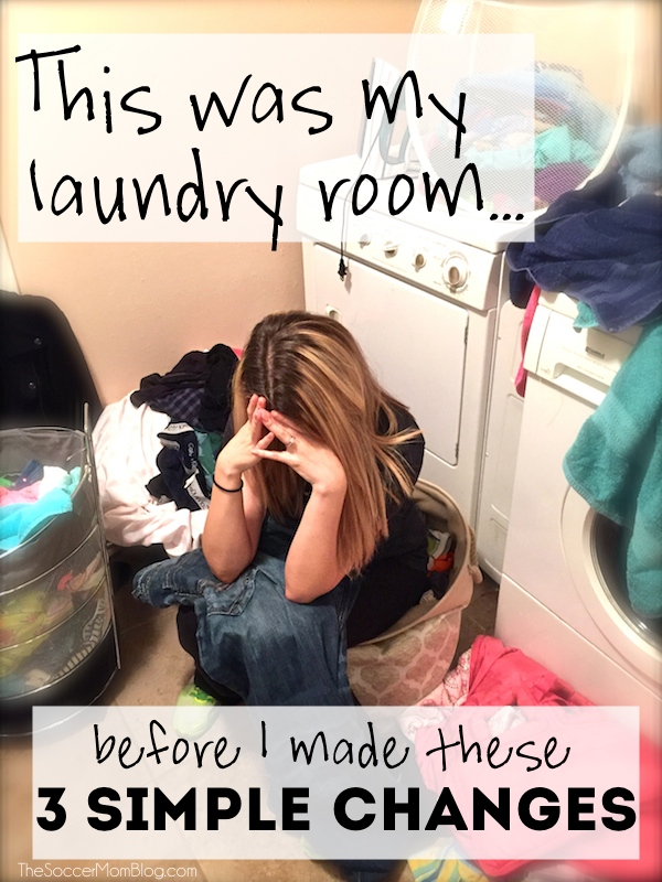 With these three simple changes I took control of my laundry and stopped letting it stress me out! #TotalBleachControl #ad