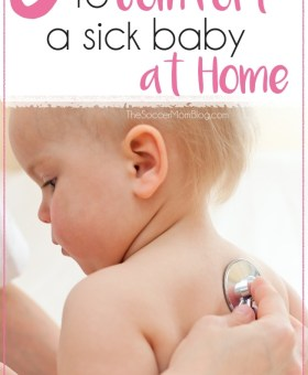 Five Tips for Making Your Sick Baby Happier