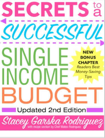 Secrets to a Successful Single Income Budget Volume 2