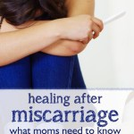 You Don't Have to Be Ok — Healing After Miscarriage