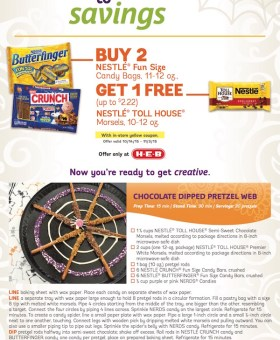 Save with NESTLÉ® at H-E-B