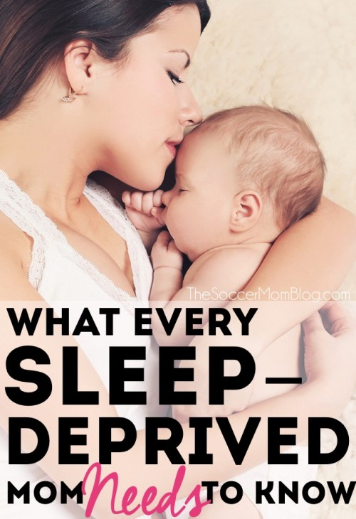 Having a baby that won't sleep through the night is tough. These are the things I tell myself when I'm at my most sleep deprived. A must-read for new moms!