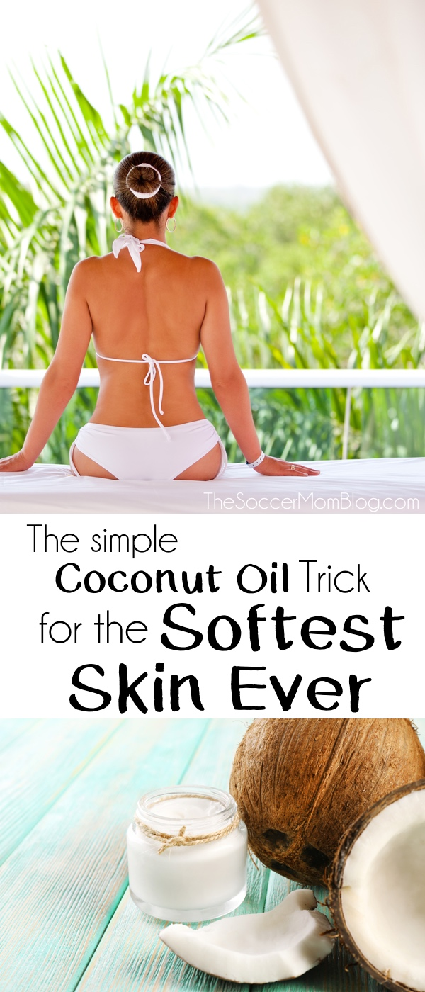 You might have heard coconut oil is amazing for the skin (it is!) -- but the real secret is HOW you apply it! Try this simple tip for the softest skin EVER!