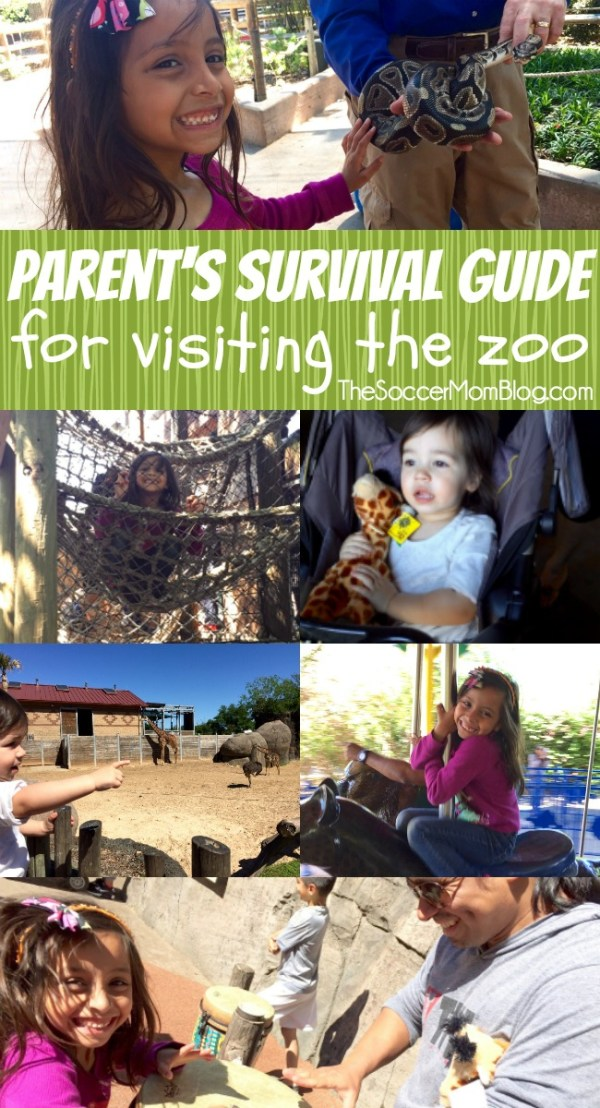 8 essential tips for parents to make visiting the zoo with kids a breeze! A do-able plan to have fun and avoid meltdowns that can happen on family trips.