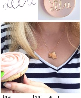 Kid's Handwriting Necklace