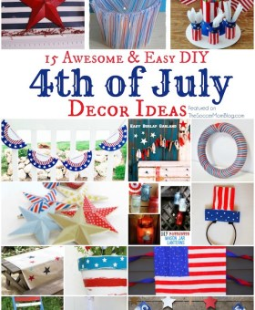15 Awesomely EASY 4th of July Party Decor Ideas