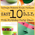 Teenage Mutant Ninja Turtles Birthday Party Ideas for Kids