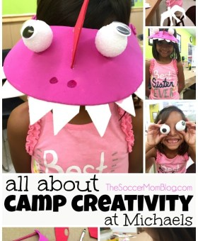 Our Day at Michaels Camp Creativity