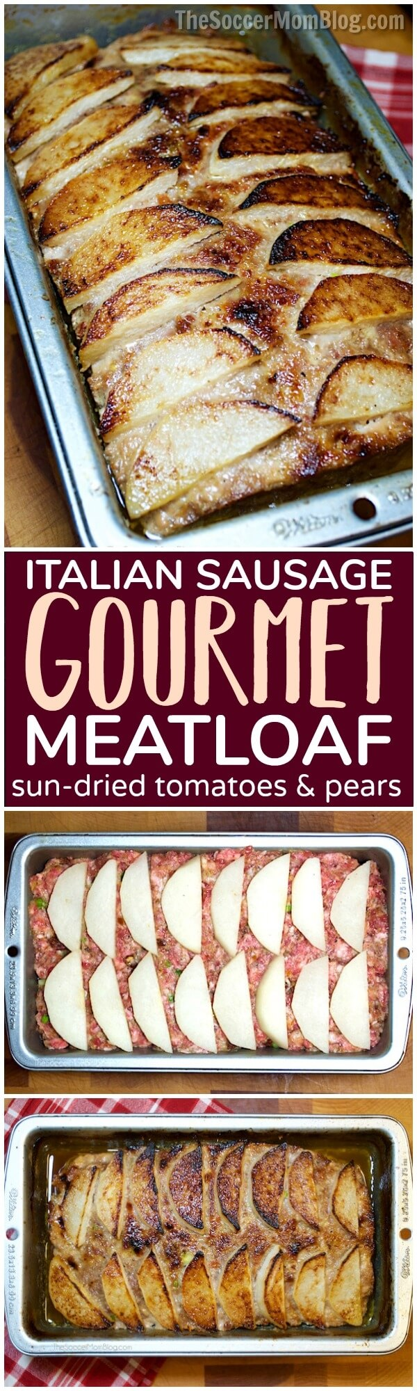 Forget the boring stuff you had growing up...thisgourmethealthy meatloaf recipe is downright delicious! (Plus it's really good for you!)