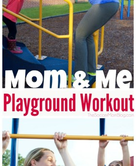 Playground Workout for Busy Moms
