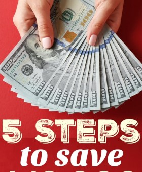 5 Surprisingly Simple Steps to Save $10,000 in ONE Year