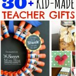 30 Fun & Frugal DIY Teacher Appreciation Gifts