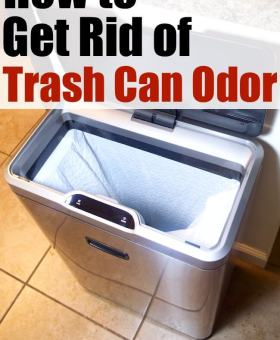 How to Deodorize Kitchen Garbage Cans
