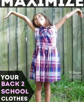 How to Maximize Your Back to School Clothes Budget