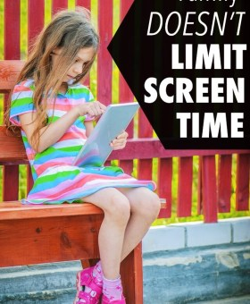 Why We Don't Limit Screen Time