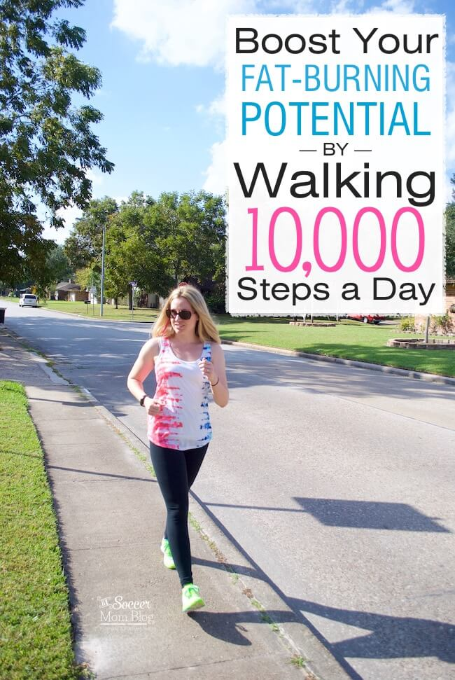 Meeting your fitness goals & losing weight is easier than you think! 10 ways to hit 10,000 steps a day, without making major changes to your daily routine.