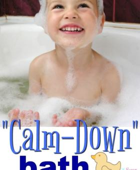 Calming Bath for Kids