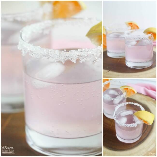 This gorgeous Sparkling Pink Paloma Cocktail Recipe will change the way you look at tequila! A festive drink perfect for brunch, parties, and holidays.