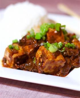 Spicy Vegetarian Chinese MaPo Tofu
