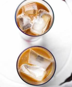 Creamy Vietnamese Iced Coffee Cocktail