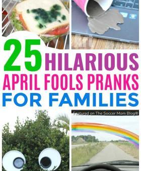 25 Good-Spirited April Fools Pranks for Kids
