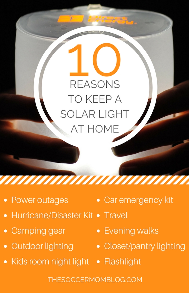 10 Handy Uses for a Solar Powered Light - The Soccer Mom Blog