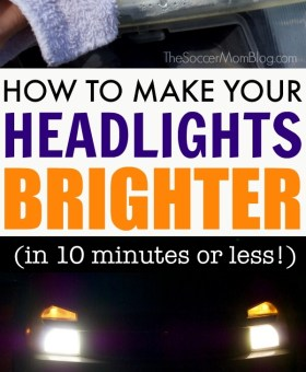 How to Make Your Headlights Brighter in Minutes