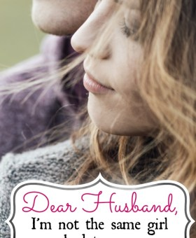 Dear Husband, I Want to Apologize