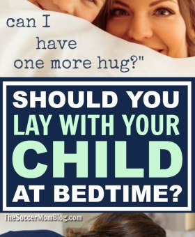 Why it's OK to Lay with Your Child Before Bed