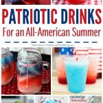 20+ Red White and Blue Drink Recipes