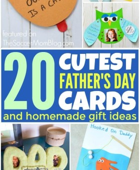 20 Cutest Kid-Made Father's Day Cards & Gifts