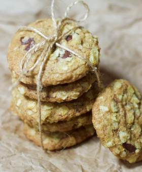 Potato Chip Chocolate Chip Cookies (Gluten Free Recipe)