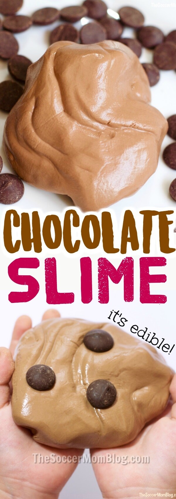 3 Ingredient Edible Chocolate Slime Recipe Video