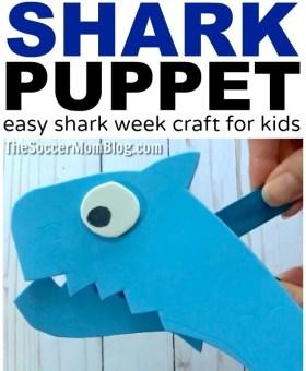 Chompin' Foam Shark Puppet